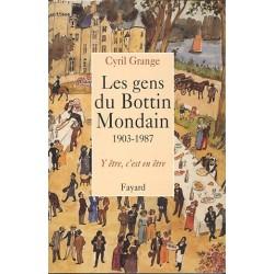 Les gens du Bottin Mondain - Cyril Grange