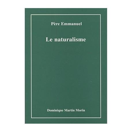 Le naturalisme - Père Emmanuel