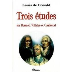 Trois études - Louis de Bonald