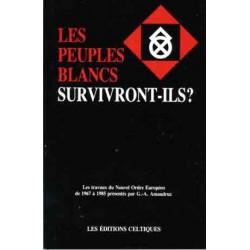 Les peuples blancs survivront-ils? - Amaudruz